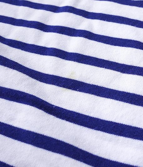 ORCIVAL ボーダーバスクシャツ