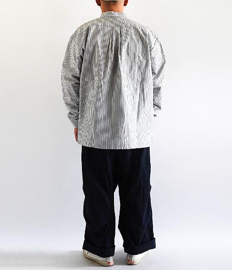 ユーロストライプワークシャツ