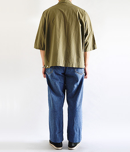 Customized by RADICAL Stitch Press EZ Denim Pants [INDIGO]