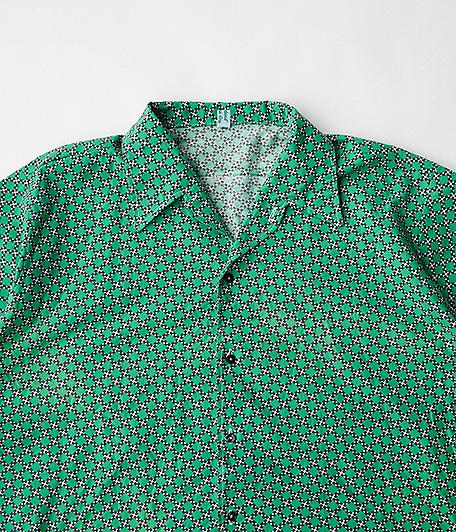 70's ジオメトリックパターンショートスリーブシャツ