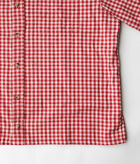 ユーロショートスリーブギンガムチェックシャツ