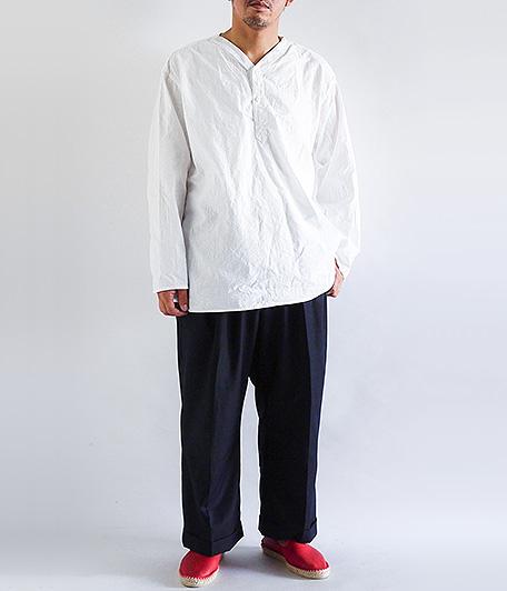 ロシア軍ヘンリーネックスリーピングシャツ [Dead Stock]
