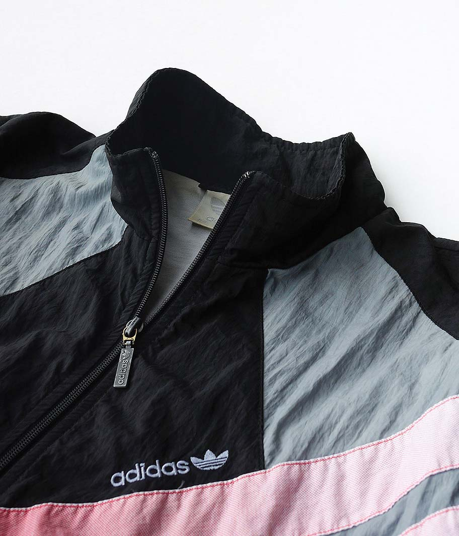90's adidas ナイロントラックジャケット