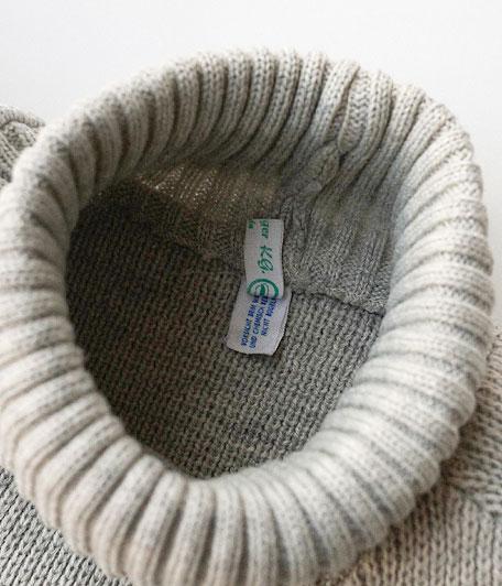 オールドアクリルハイネックセーター