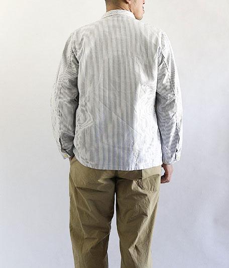 ジャーマンストライプワークジャケット