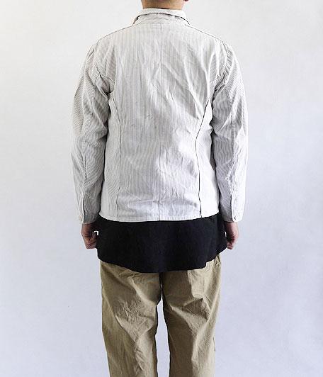 ビンテージジャーマンストライプワークジャケット