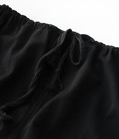 70's ギリシャ軍コットンイージーパンツ  [Overdyed Black]