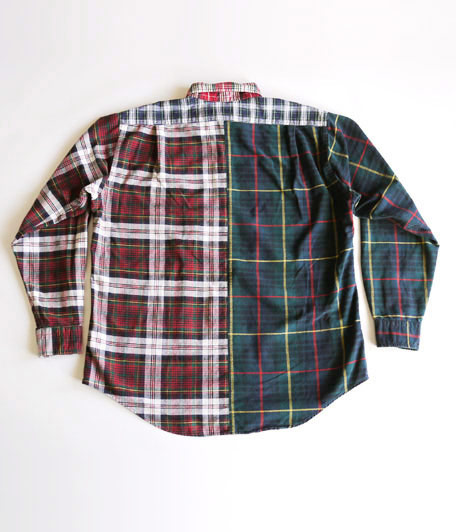 アナクロノームANC-050 Original Plaid Flannel Shirt
