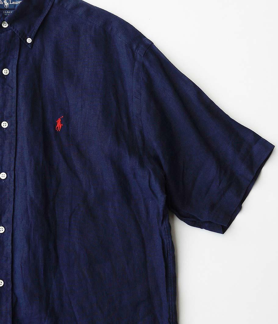 Ralph Lauren ショートスリーブリネンシャツ