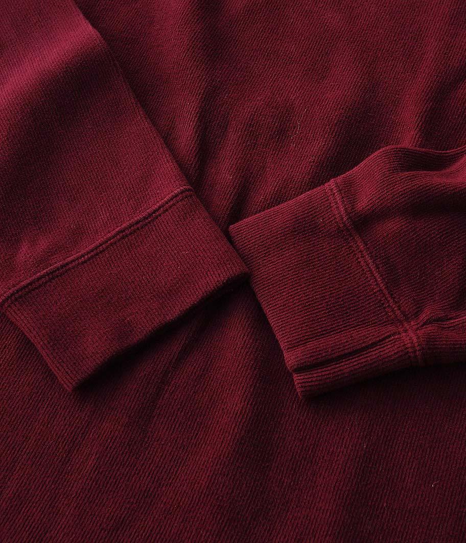 Ralph Lauren ハーフジップロングスリーブTシャツ