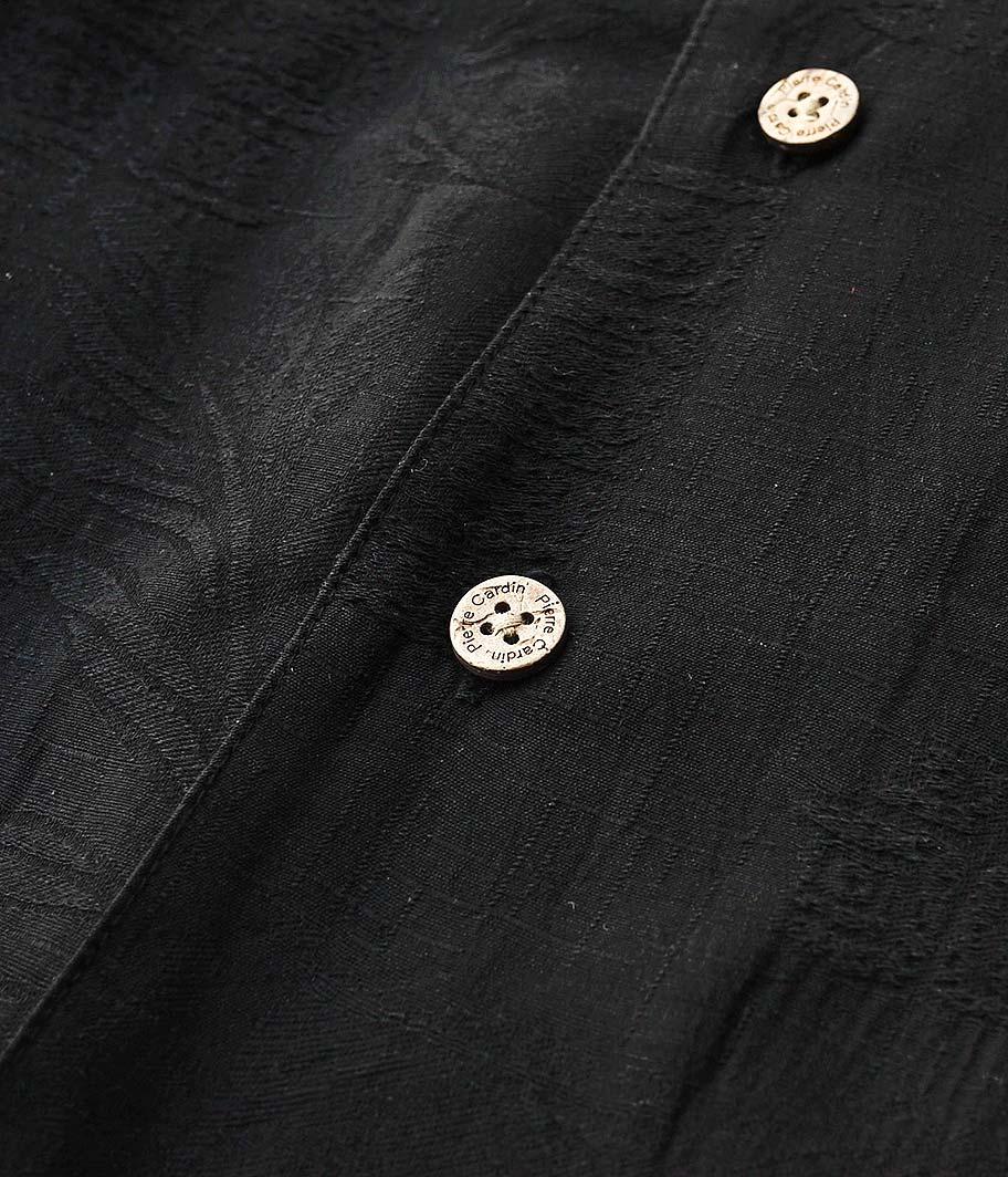 Pierre Cardin ショートスリーブオープンカラーシャツ