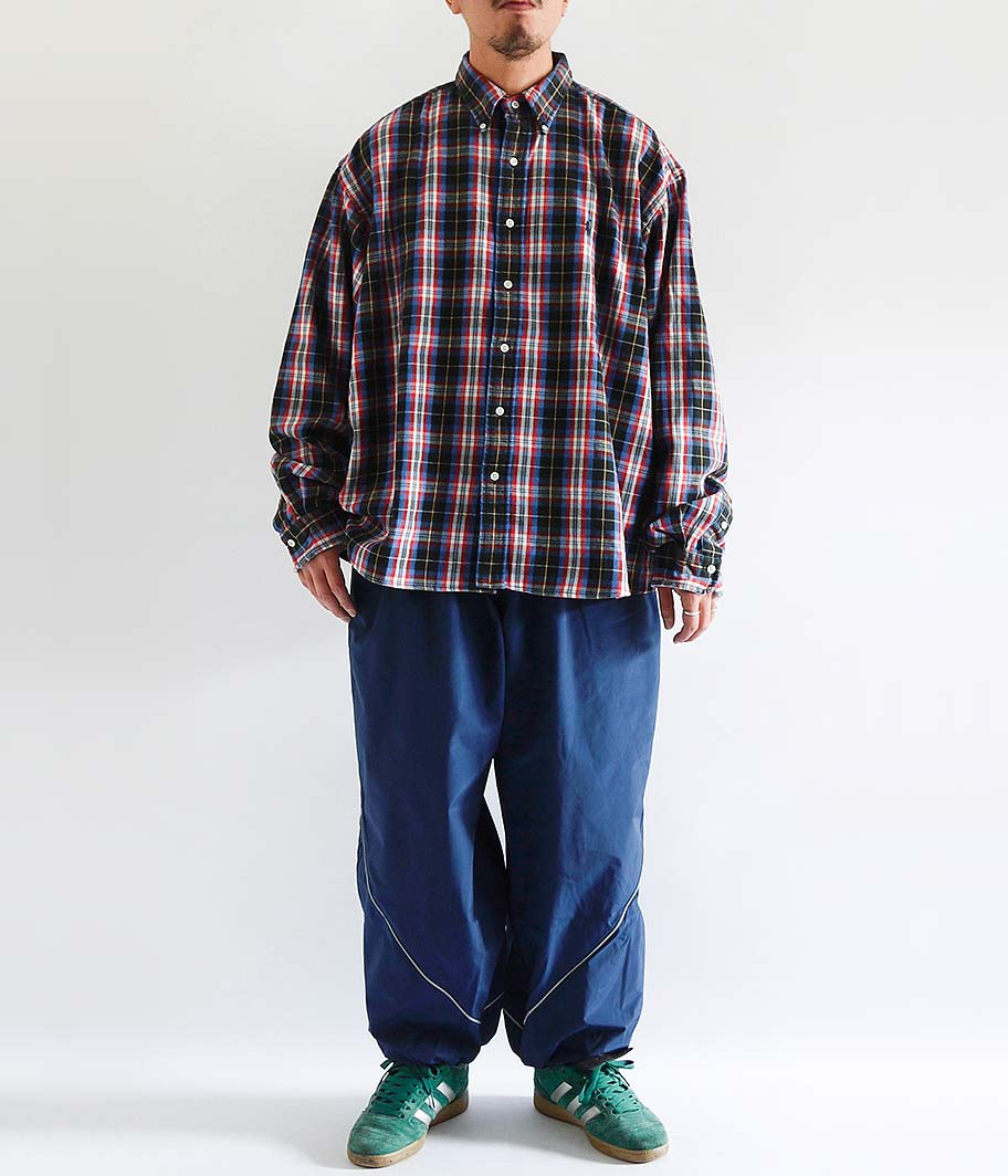 Ralph Lauren ヘビーフランネルボタンダウンシャツ