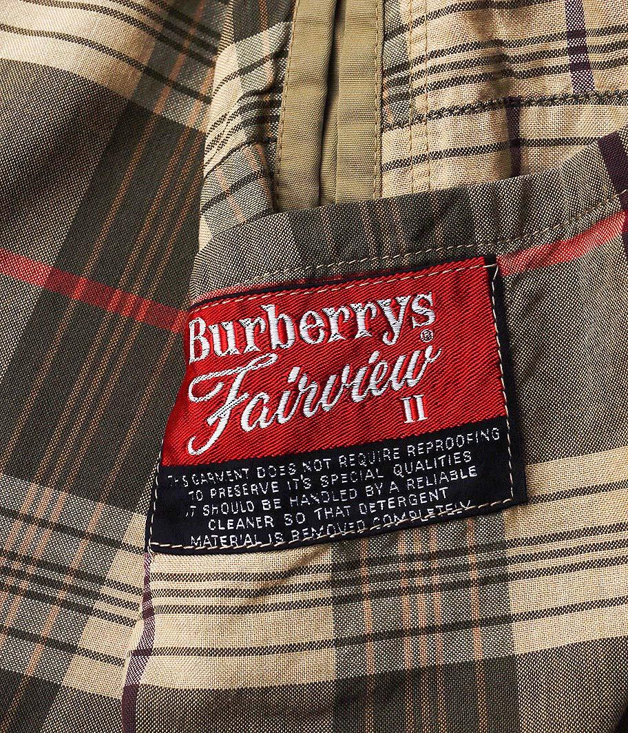 Burberry's ビンテージステンカラーコート