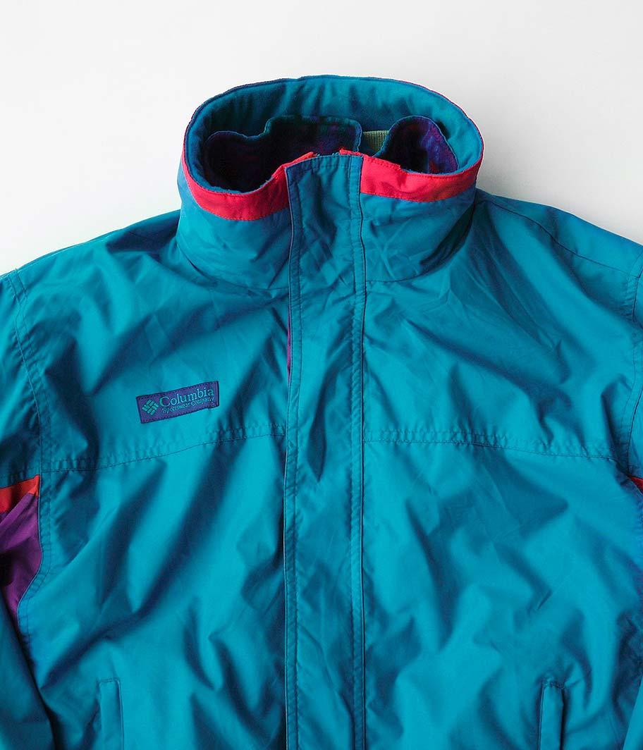 90's Columbia オールドナイロンジャケット