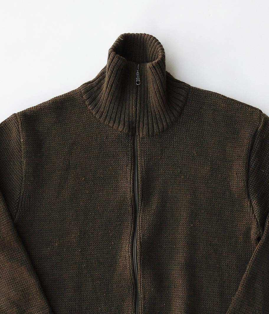 オールドフルジップセーター