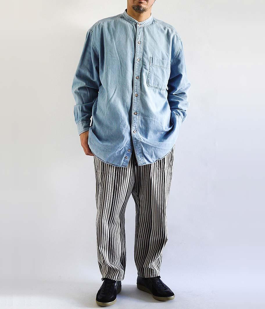 Eddie Bauer ロングスリーブダンガリーシャツ