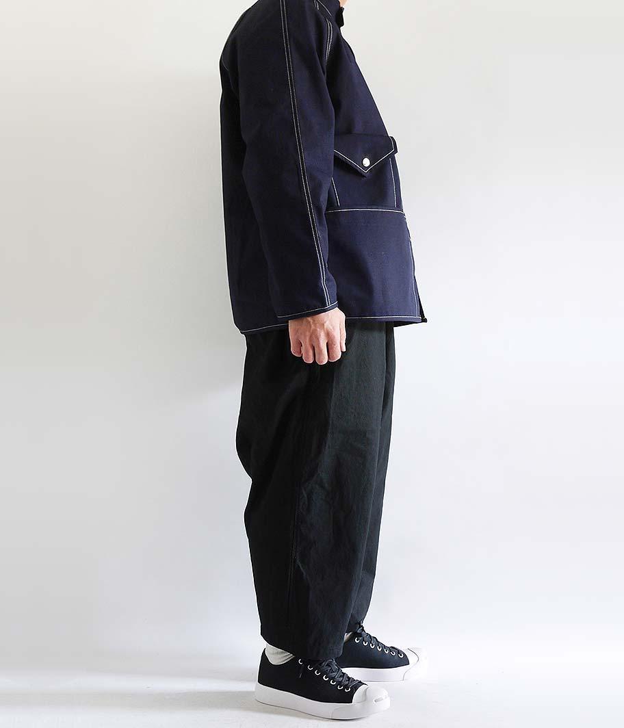 Customized by RADICAL Italian Military EZ Snow Camo Pants [BLACK]