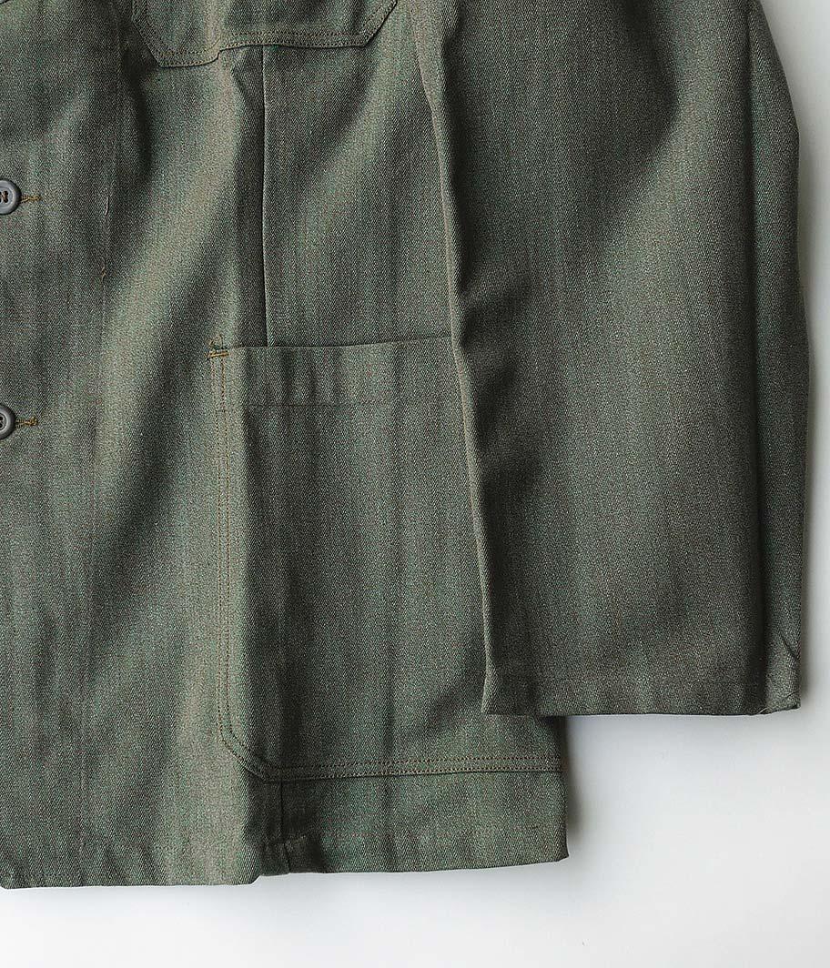 60's スウェーデン軍 プリズナージャケット&トラウザーズ【セットアップ / Dead Stock】