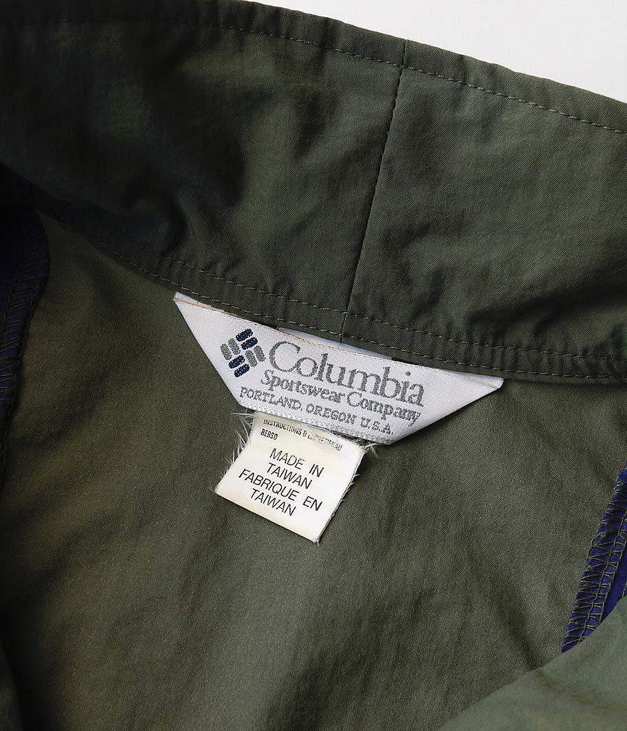 90's Columbia オールドナイロンブルゾン