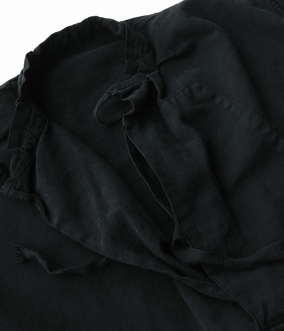 スイス軍スモックシャツ (Overdye / BLACK)