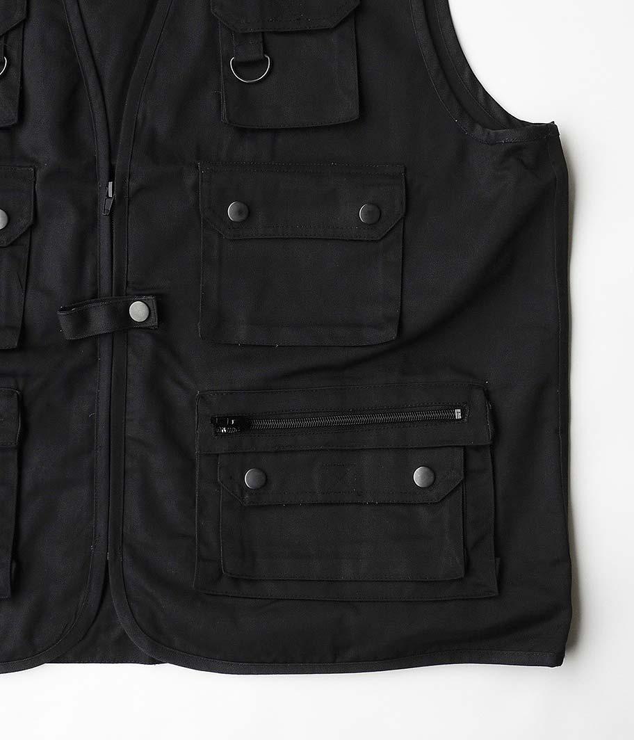 Mil-Tec Utility Vest [BLACK]