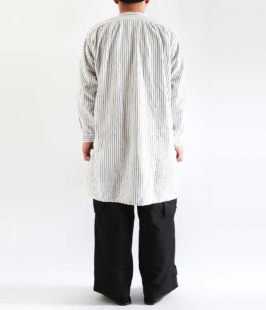 ユーロプルオーバーロングシャツ