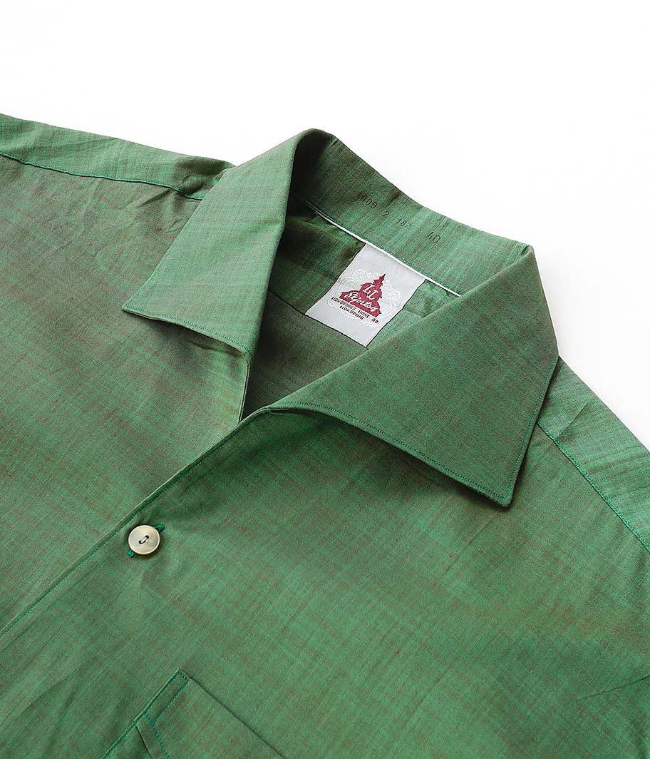 ユーロイタリアンカラーシャツ[Dead Stock]