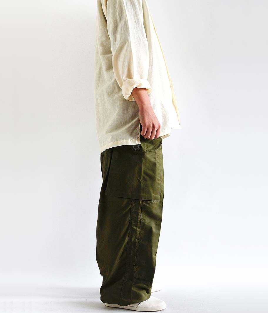 Customized by RADICAL Canadian Army Windproof Over Pants [Deadstock]