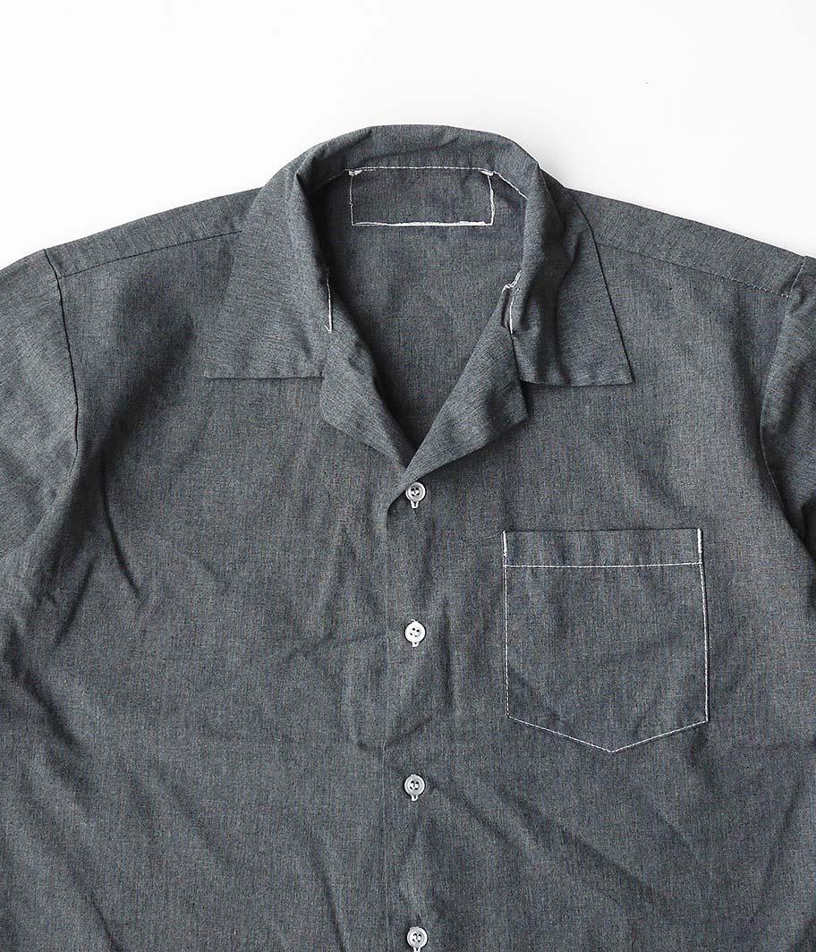 U.Sミリタリー メディカルショートスリーブシャツ  [Overdye / BLACK]