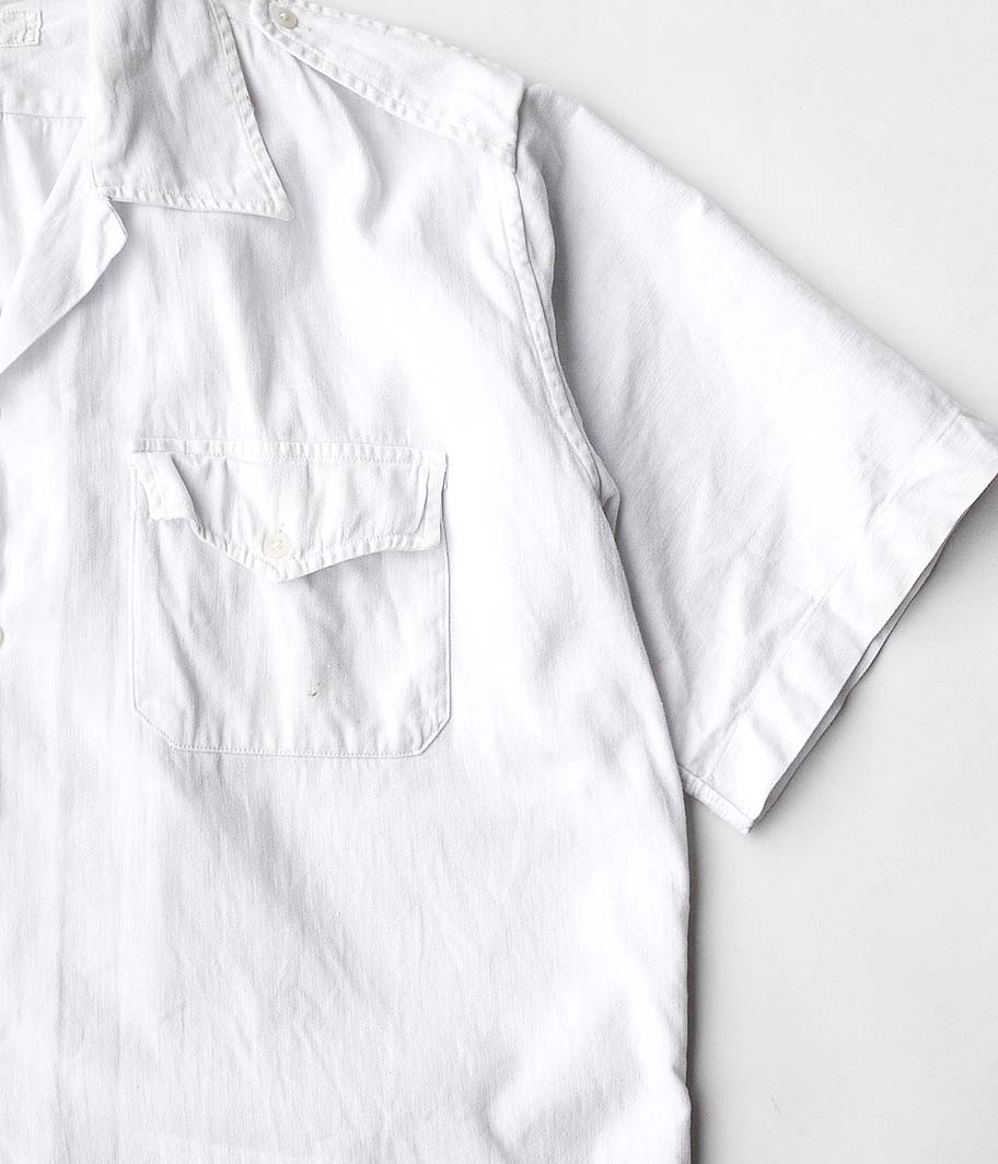 40's フランス軍ショートスリーブミリタリーシャツ