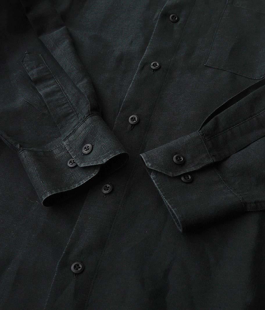 ユーロバンドカラーシャツ
