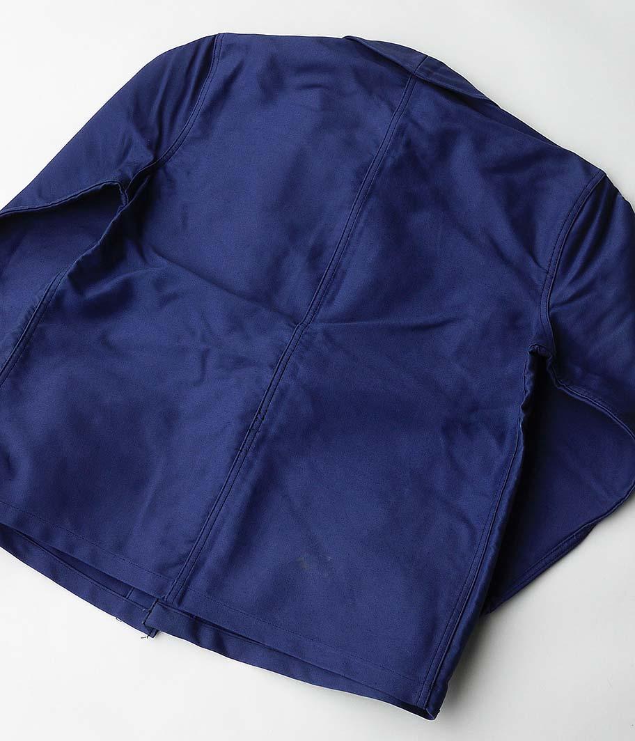 BEAU-FORT ブルーモールスキンフレンチワークジャケット[Dead Stock]