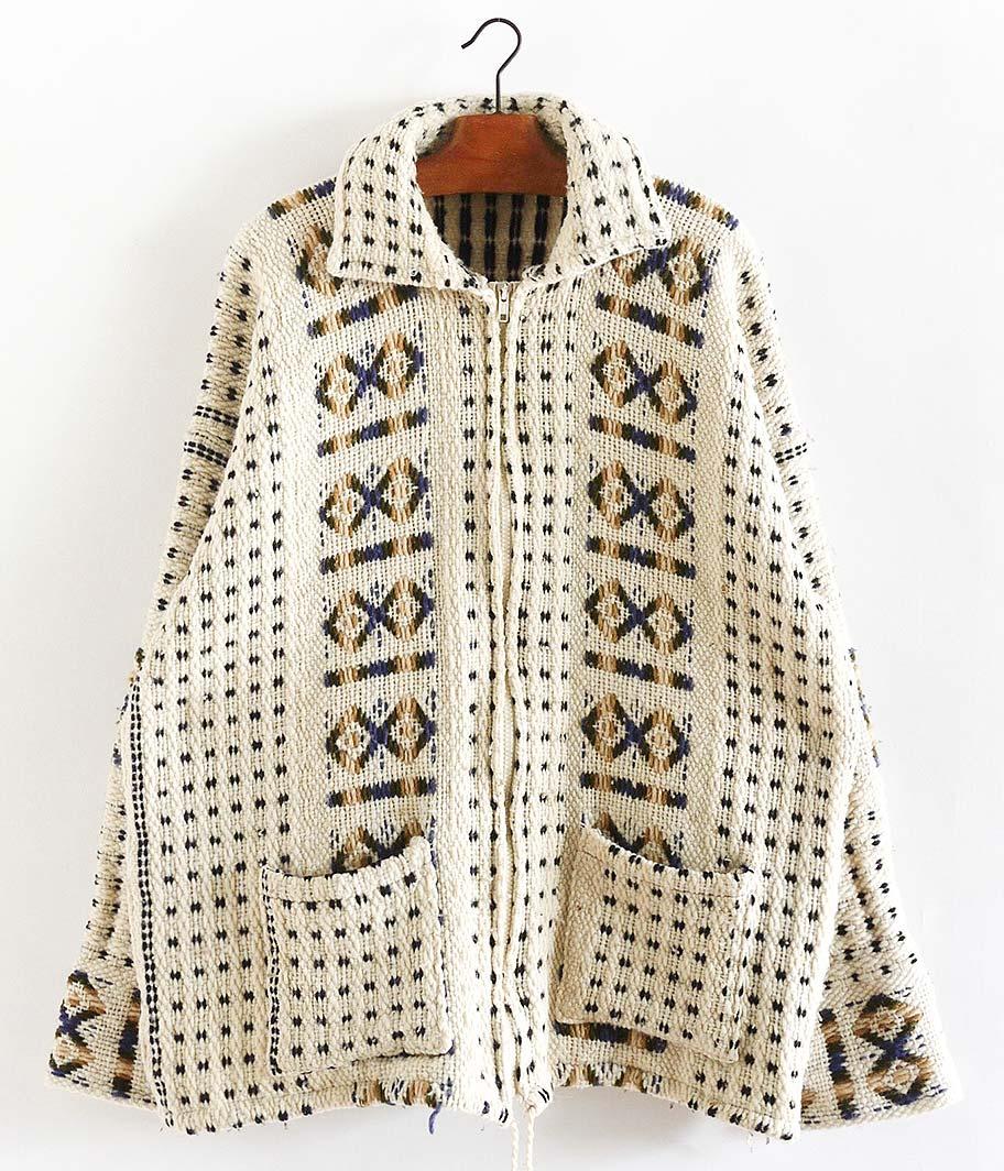 エスニックニットジャケット