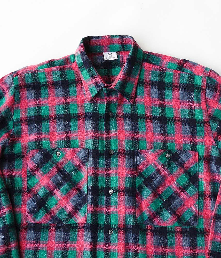 ユーロウールチェックシャツ