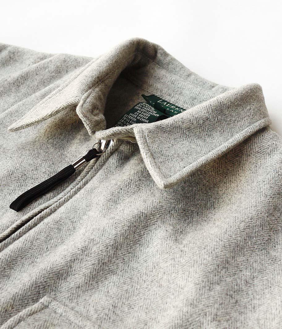 Ralph Lauren ジップアップウールシャツ