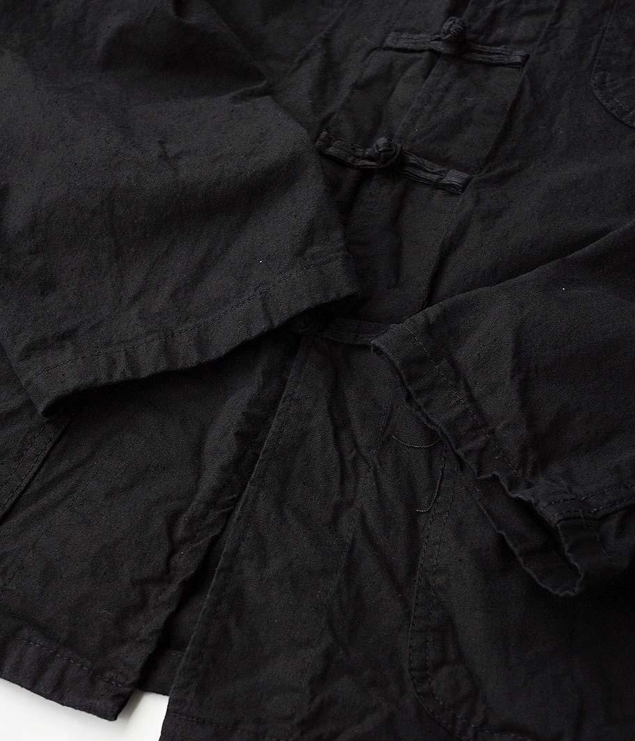 フレンチチャイナジャケット&トラウザーズ [Dead Stock / BLACK]