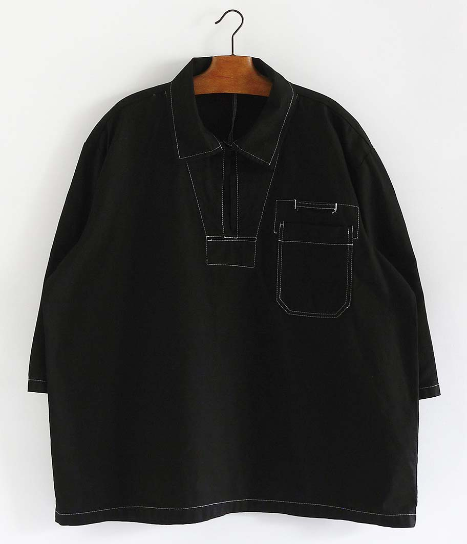 チェコ軍 プルオーバーシャツ [Overdyed Black]