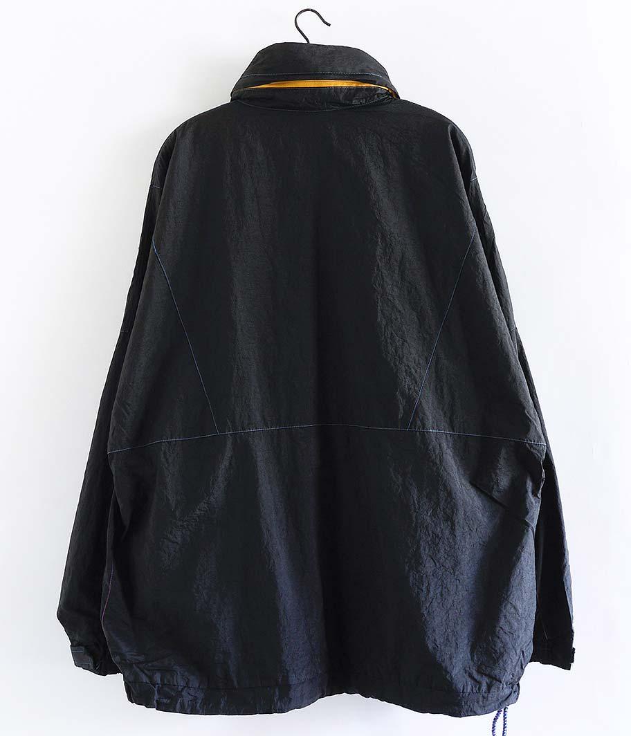 ユーロナイロンアノラック (Overdye / BLACK)