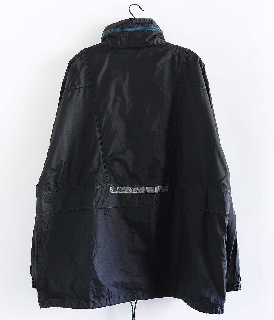 ユーロナイロンジャケット (Overdye / BLACK)
