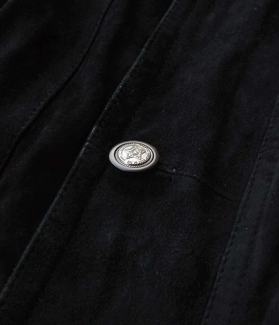 オールドスエードジャケット
