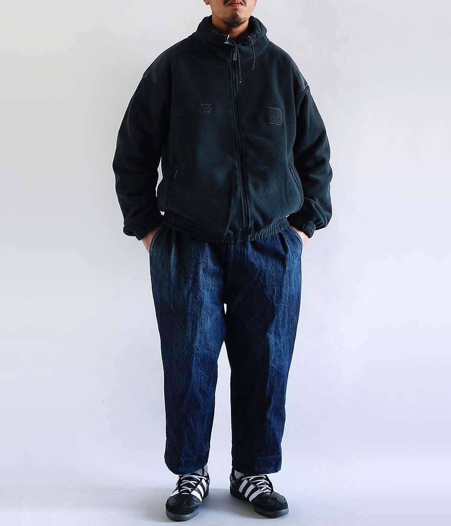 フレンチミリタリータイプフリースジャケット [NAVY]
