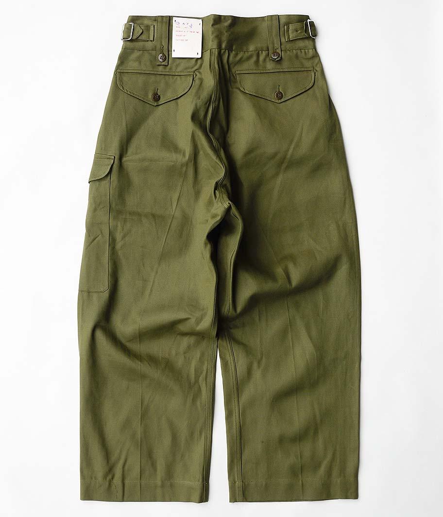 60's オーストラリア軍グルカパンツ [Resize / Dead Stock]