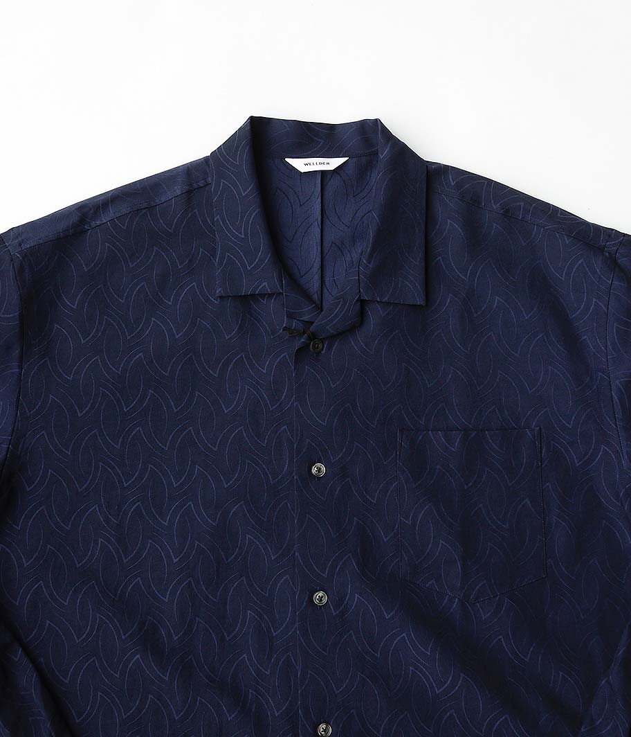 WELLDER Open Collar Shirt