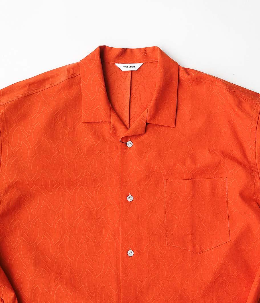 WELLDER Open Collar Shirt